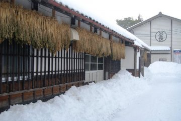 This traditional building is the Honcho pickles factory.