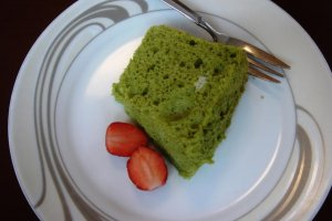 Chiffon cake to satisfy the sweet tooth