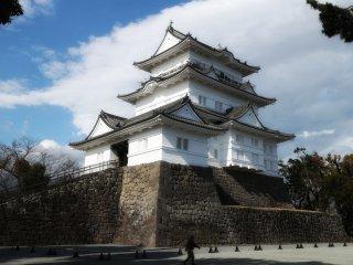 Pemandangan kastil dalam kejayaannya