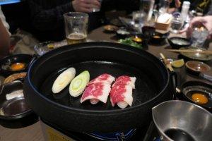 櫻鍋 (馬肉壽喜鍋 Sakura Nabe)