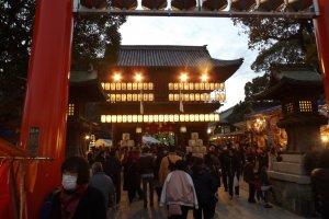 Entrance to Tsubaki Jinja