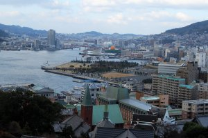 Located by the ocean, Nagasaki is perfect for trading like the Dutch did.