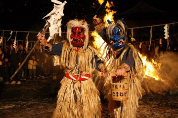 The Namahage Sedo Festival