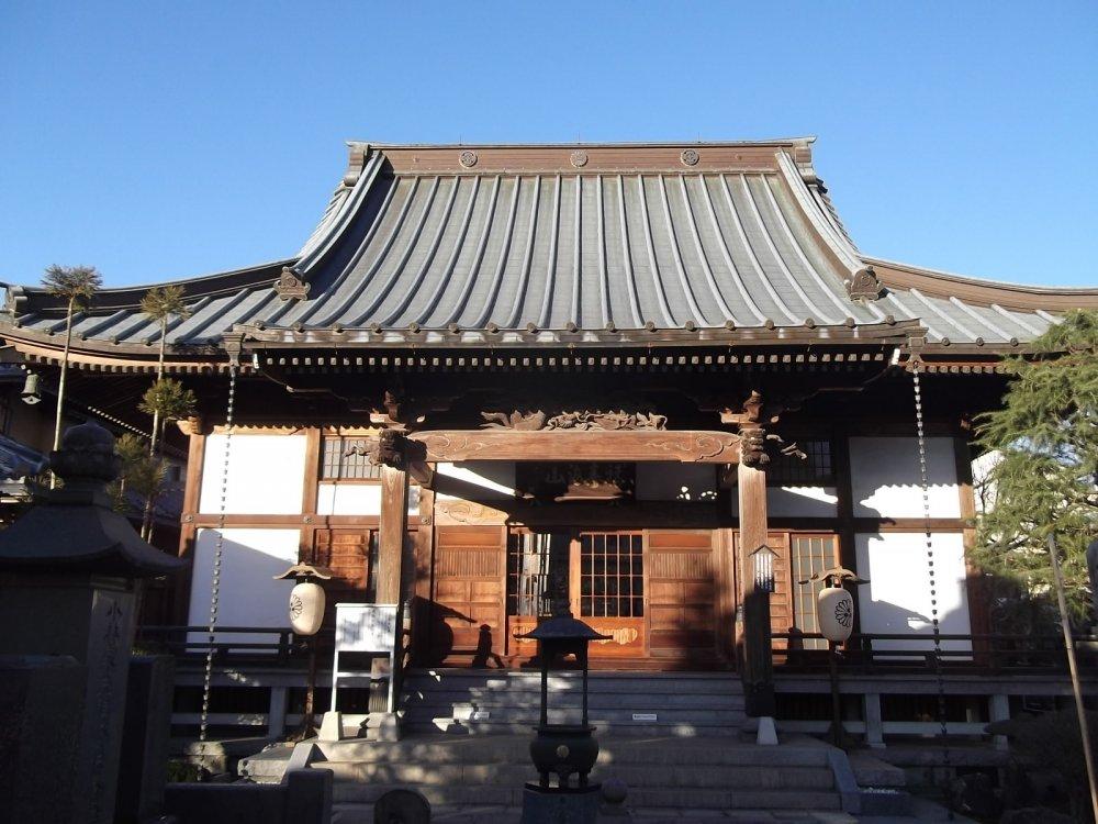 The worship hall