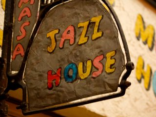 An old Jazz House I probably wouldn't enter but provides entertainment for the locals.