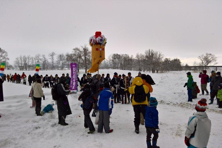 Winter Bonden Festival in Daisen