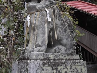 One of the shrine guardians