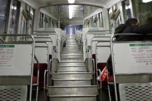 In the cablecar to Koyasan