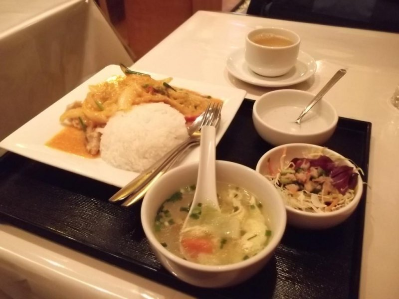 <p>My tasty lunch</p>