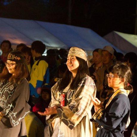 Điệu nhảy Ainu truyền thống trên núi Daisetsuzan