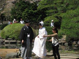 Sesi foto pernikahan
