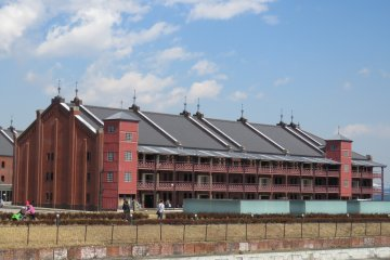 Exploring Yokohama Red Brick Warehouse