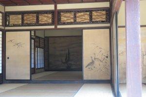 Inside Rinshunkaku