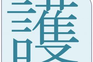 "The kanji for ""protection."""