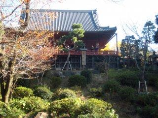 Храм Канъэйдзи Киёмидзудо, посвященный богине милосердия Каннон
