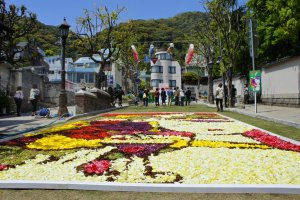 Infiorata decorations