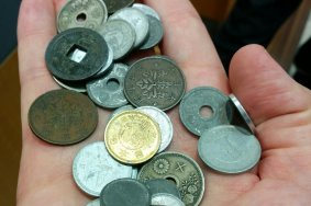 Единственный магазин марок и монет в Сендае