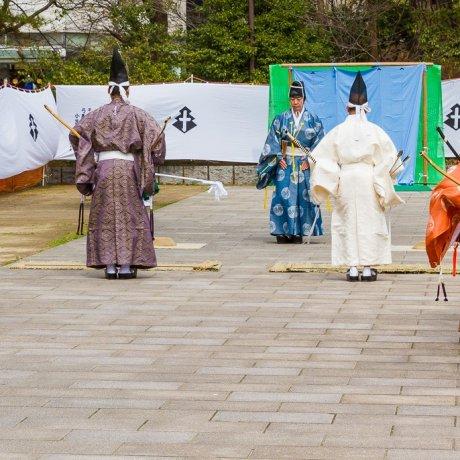 Japanese Archery at Kokura Castle