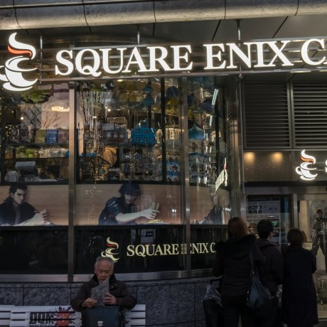 Square Enix Cafe in Akihabara