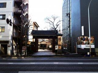 Un paysage typique de Tokyo