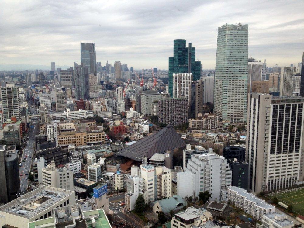Depuis la Tour de Tokyo