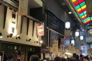 Inside Nishiki Market
