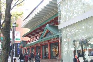 Oriental Bazaar tampak luar