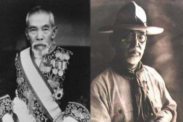 Tsuyoshi Inukai and Shinpei Goto