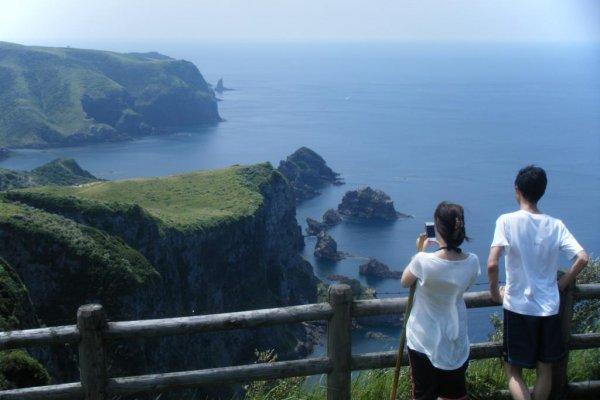 Nishinoshima part of the Oki Island group