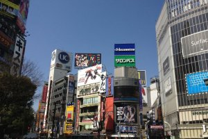 Looking towards the entrance of Center Gai (just left of Starbucks)