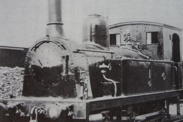 British locomotive in Japan
