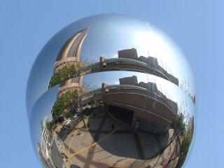 Отражение башни Act Tower