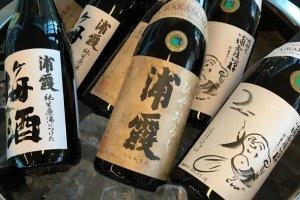 Rượu sake Junmai và Junmai Daiginjo của nhà máy Urakasumi
