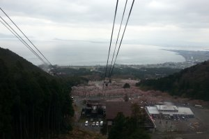 View from the ropeway