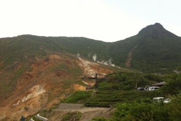 Hakone Crater: Amazing but beware, the smell of sulphur is atrocious—worth it though!