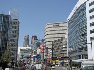 Shinjuku looks like a big city itself