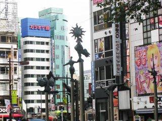 La jungle urbaine d'Ikebukuro
