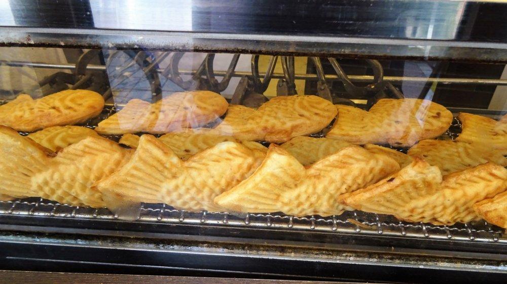 ขนมไทยะกิ ขนมรูปปลา น่ารัก น่ากิน
