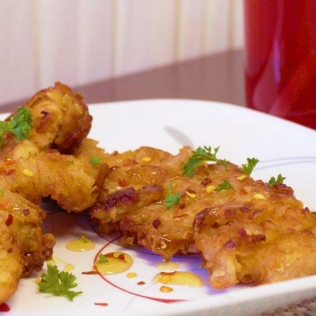 Ayam Madu dan Kecap Asin