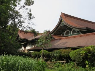 Japanese style building (a museum)