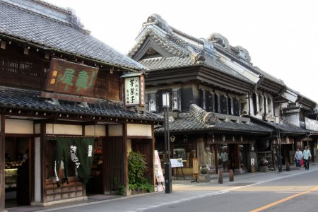 Warehouse District of Kawagoe