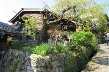 Большой дом с садом