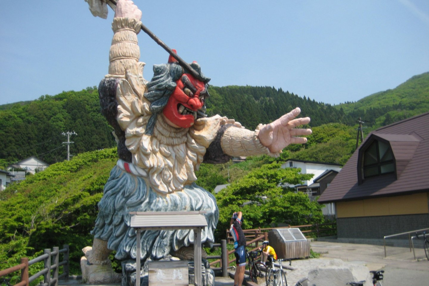 Namahage at Monzen
