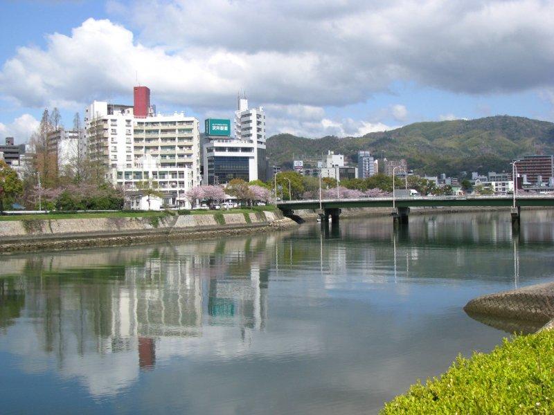 Вид Хиросимы - умиротворяющий