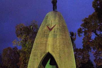 Памятник детям, погибшим в Хиросиме