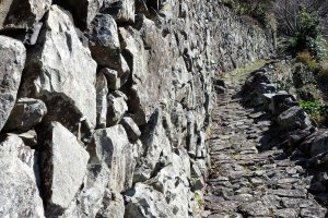 The rock walls date back to the late 1800's