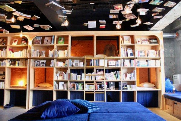 Interior di Book and Bed