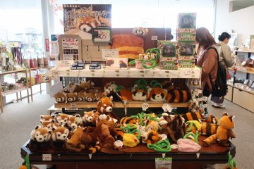 Red panda soft toys