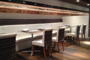 Seating for 40 in trendy Organic Italian restaurant, Briccone