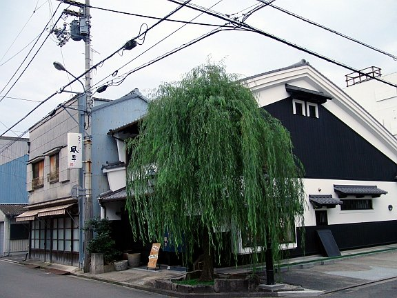 A stylish old building in the backstreets of Imabari